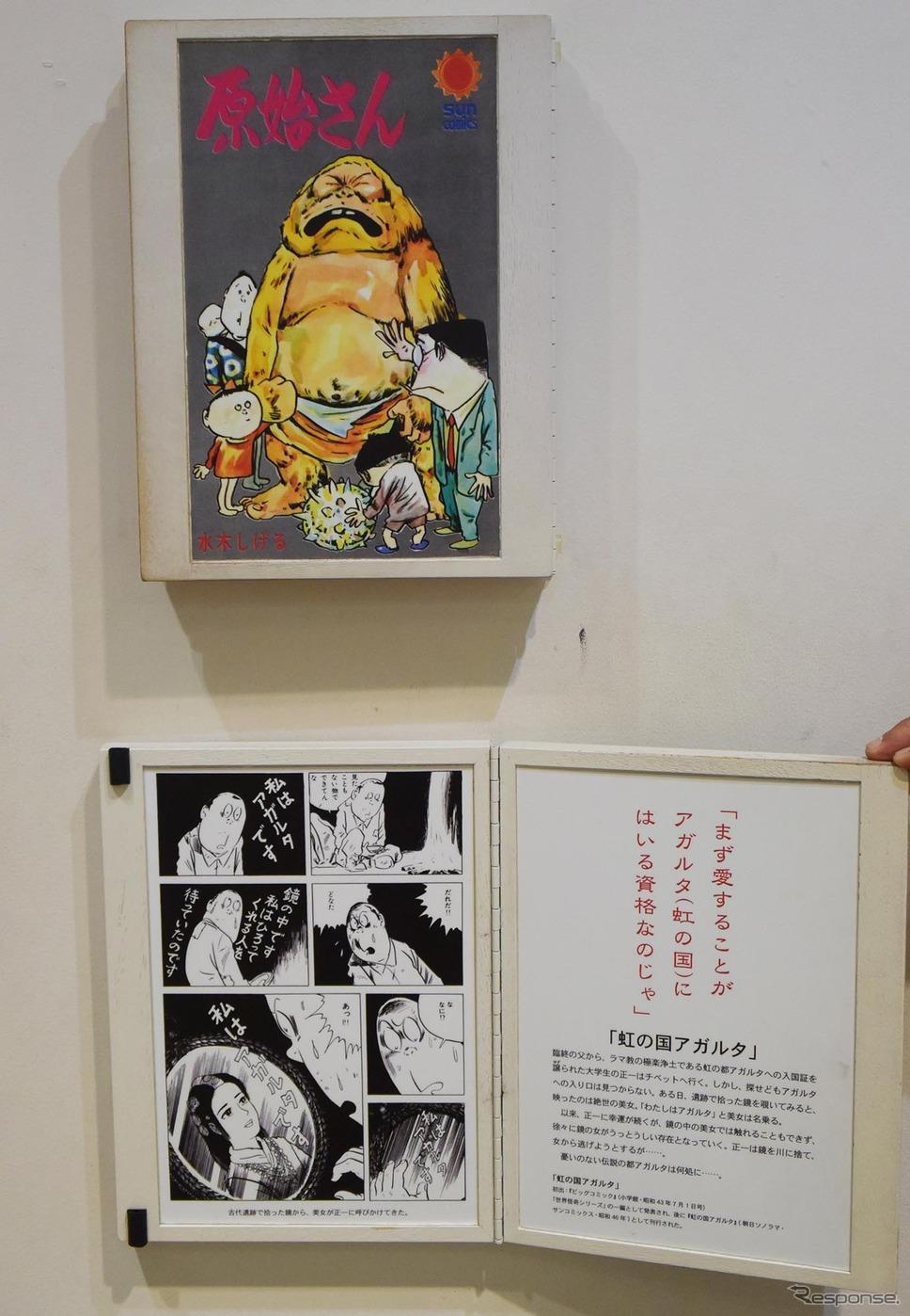 展示物を開けると作品の中身を見ることができる。《撮影 井元康一郎》