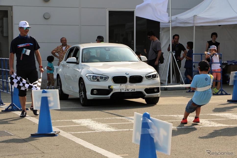 BMW POWER CHALLENGE《撮影 内田千鶴子》