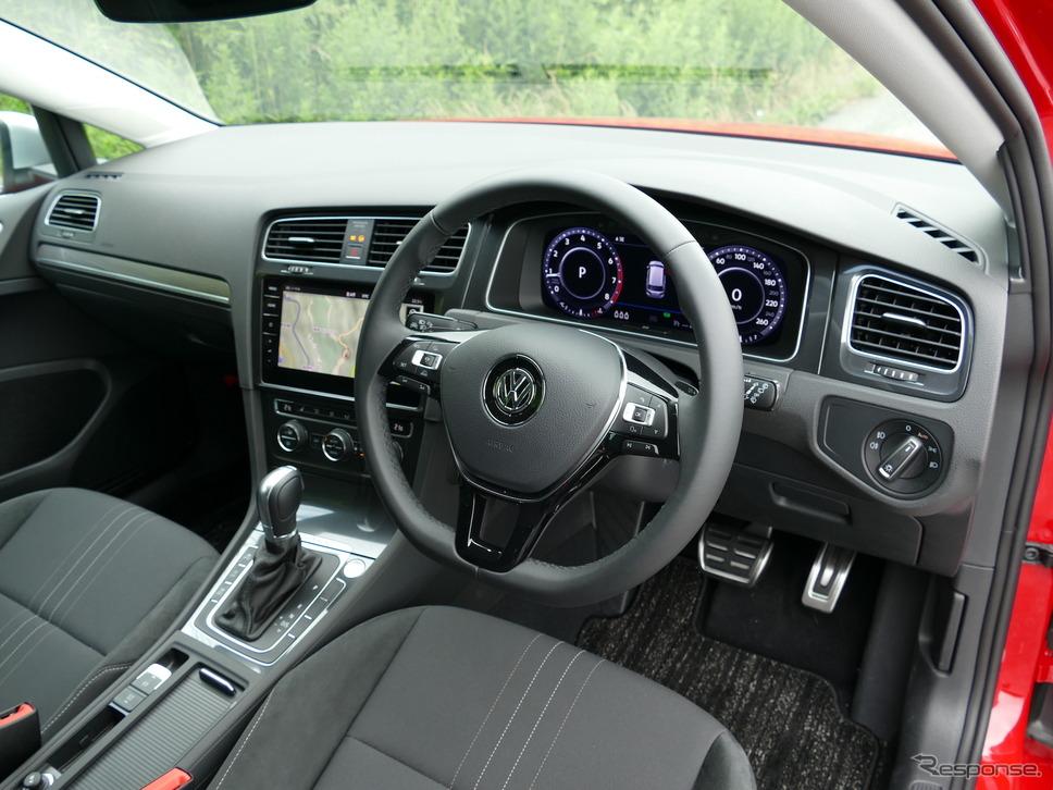 VW ゴルフ オールトラック TSI 4MOTION《撮影 島崎七生人》