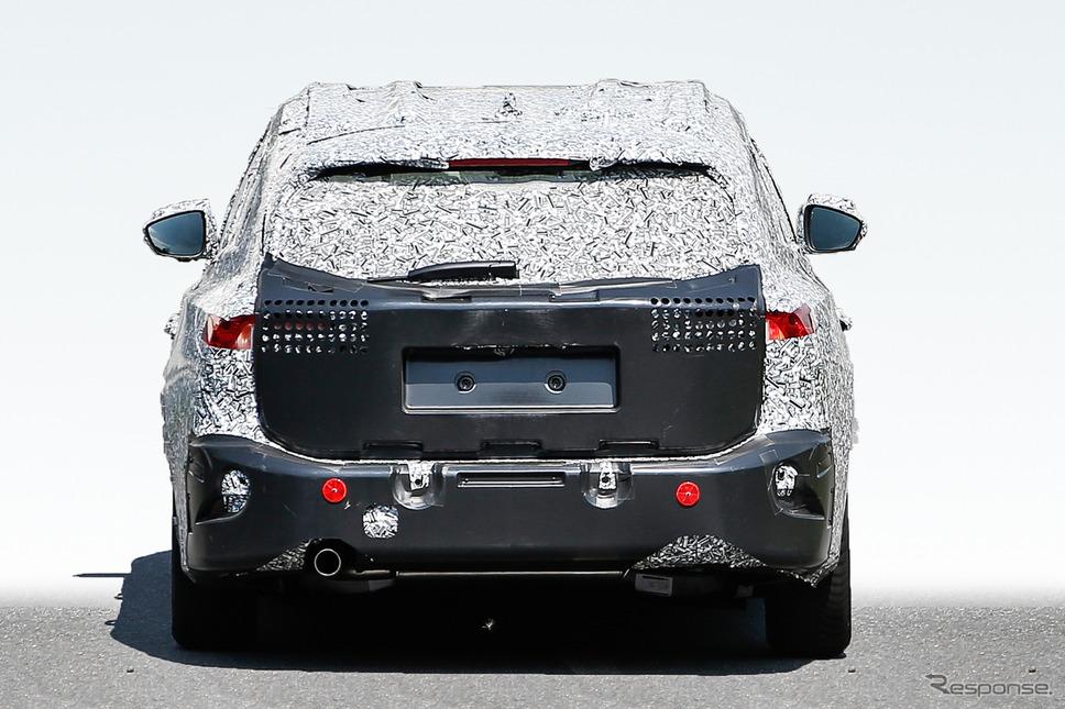 フォード フォーカスワゴン スクープ写真《APOLLO NEWS SERVICE》