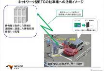 駐車料金をETCで決済、静岡市内でのモニター募集は今までと何が違うのか
