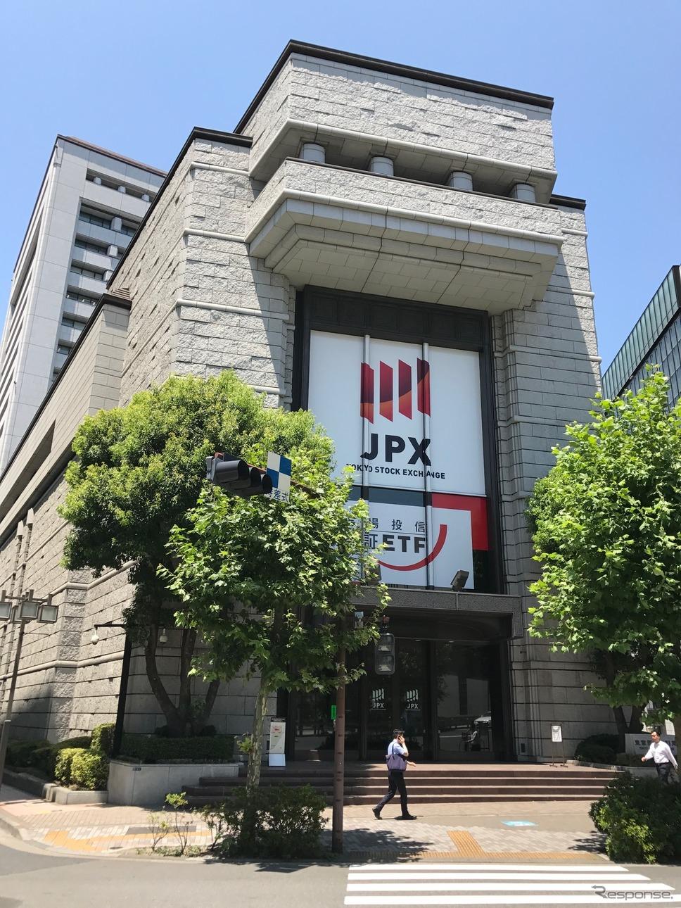 東京証券取引所《撮影 高木啓》