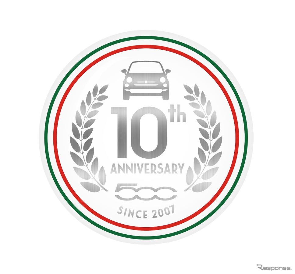10th Anniversary エンブレム