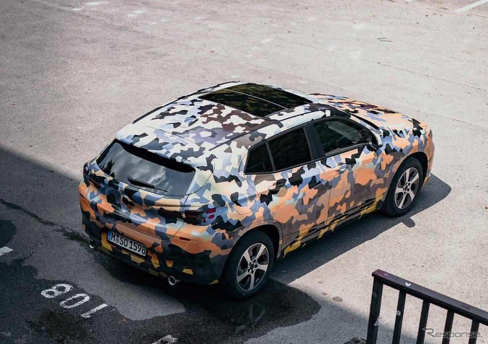 BMW X2 の開発プロトタイプ車両