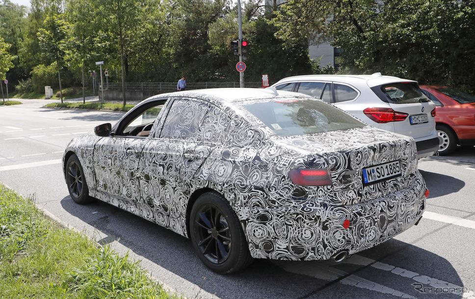 BMW 3シリーズ 次期型 スクープ写真《APOLLO NEWS SERVICE》
