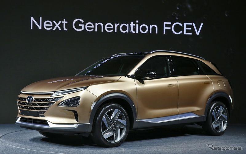ヒュンダイの次世代燃料電池車