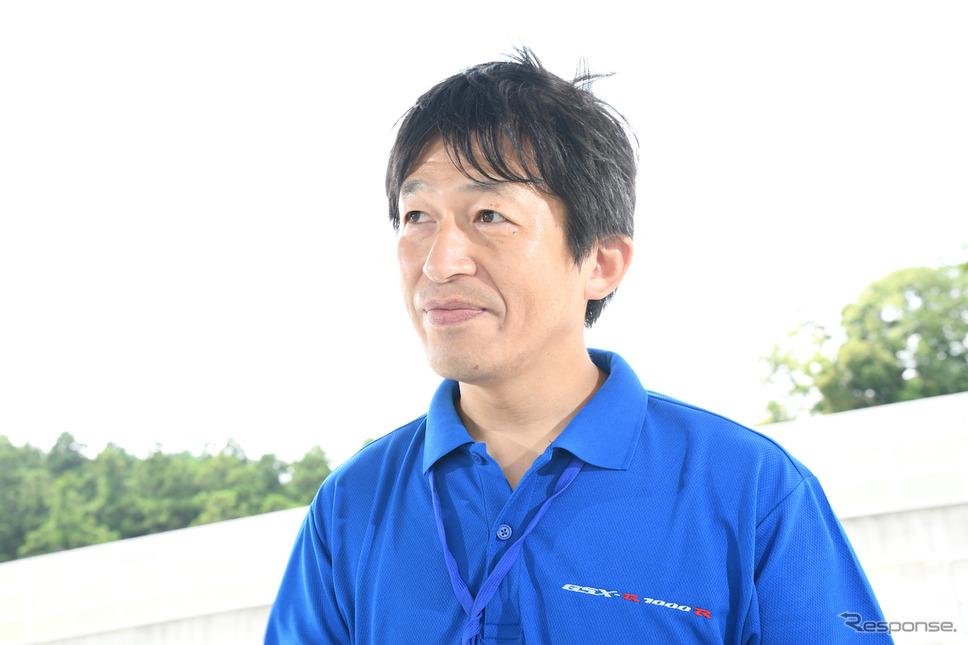 GSX-R1000Rエンジン設計 織田知之さん《撮影 雪岡直樹》