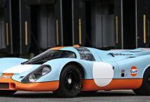 映画『栄光のル・マン』のポルシェ 917、1400万ドルで高値落札