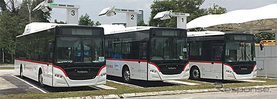 EVバスのバスターミナル