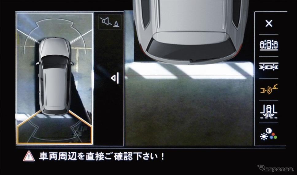 VW パサート ヴァリアント TSI エレガンスライン テックエディションアラウンドビューカメラ