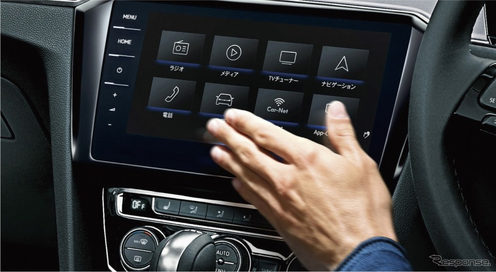 VW パサート ヴァリアント TSI エレガンスライン テックエディションジェスチャーコントロールイメージ