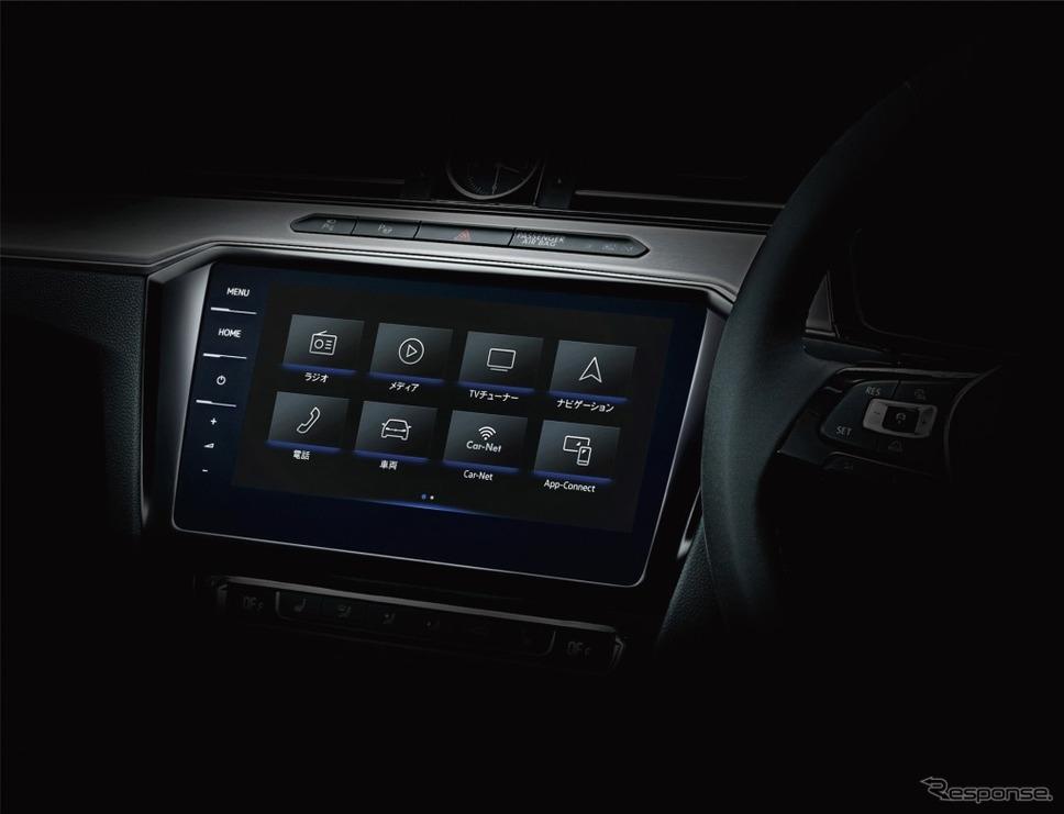 VW パサート ヴァリアント TSI エレガンスライン テックエディションVW純正インフォテイメントシステム ディスカバープロ(イメージ)