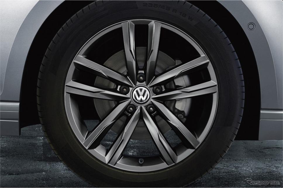 VW パサート ヴァリアント TSI エレガンスライン テックエディション18インチアルミホイール(グレー)
