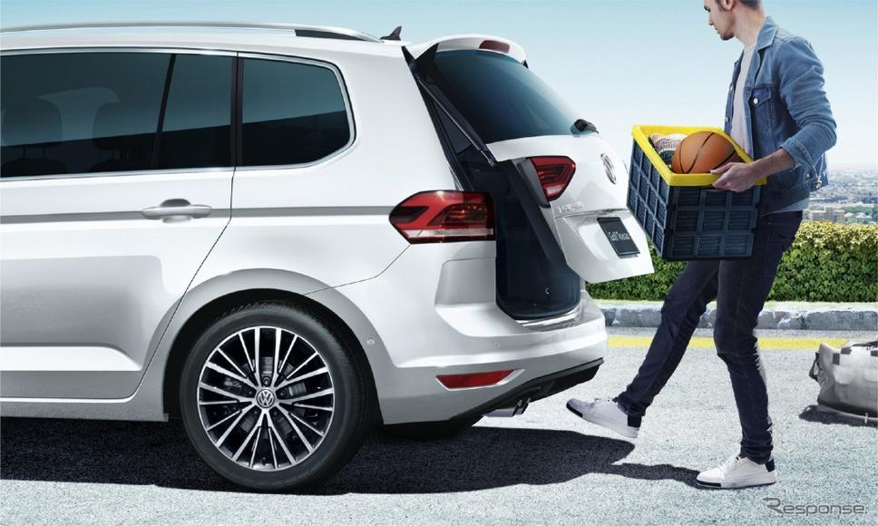 VW ゴルフ トゥーラン ミラノエディションパワーテールゲート