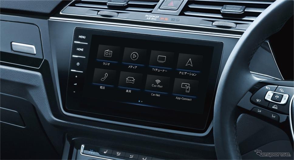 VW ゴルフ トゥーラン ミラノエディション純正インフォテイメントシステム ディスカバープロ