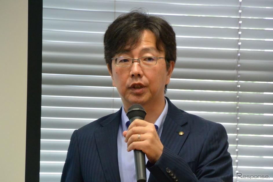 ヤマハ発動機 NV事業統括部MDB開発部 引地裕一 部長《撮影 小松哲也》
