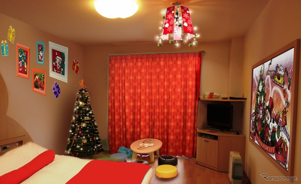 クリスマス限定 ホテル宿泊プラン