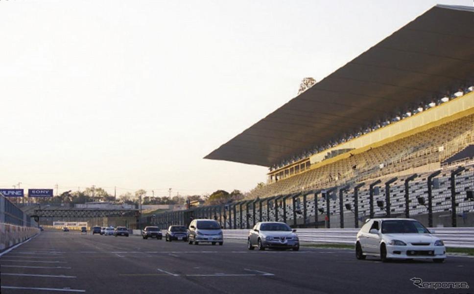 国際レーシングコース新春サーキット・クルーズ