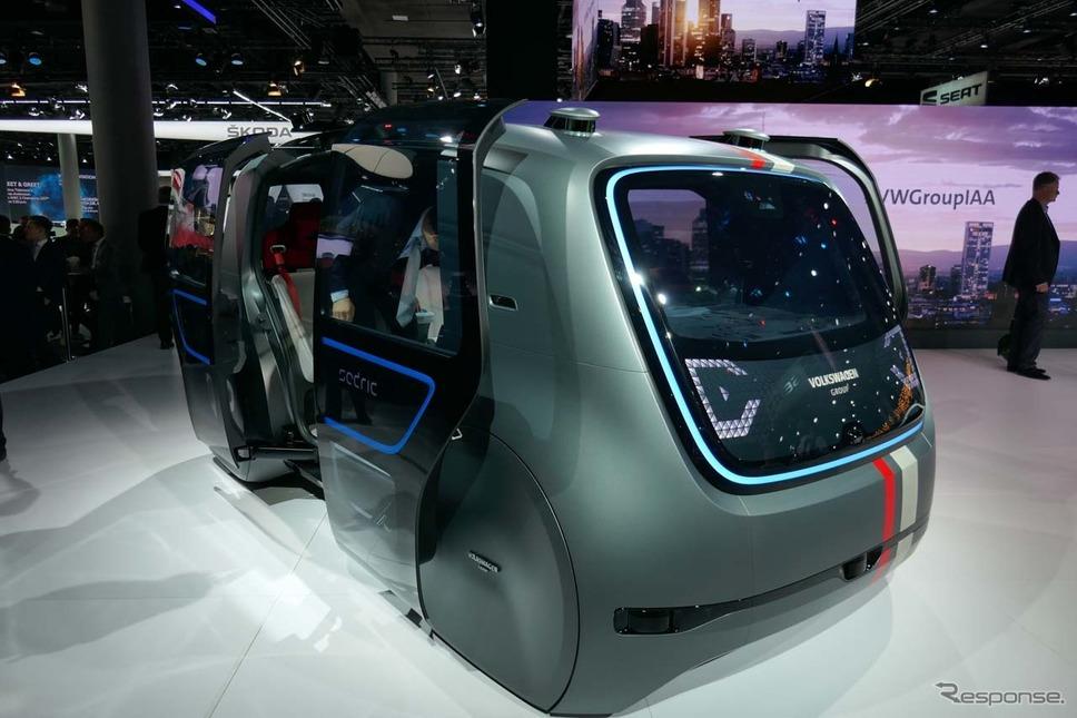 自動運転を実現するVWのコンセプトカー「Sedric(Self\driving car)」