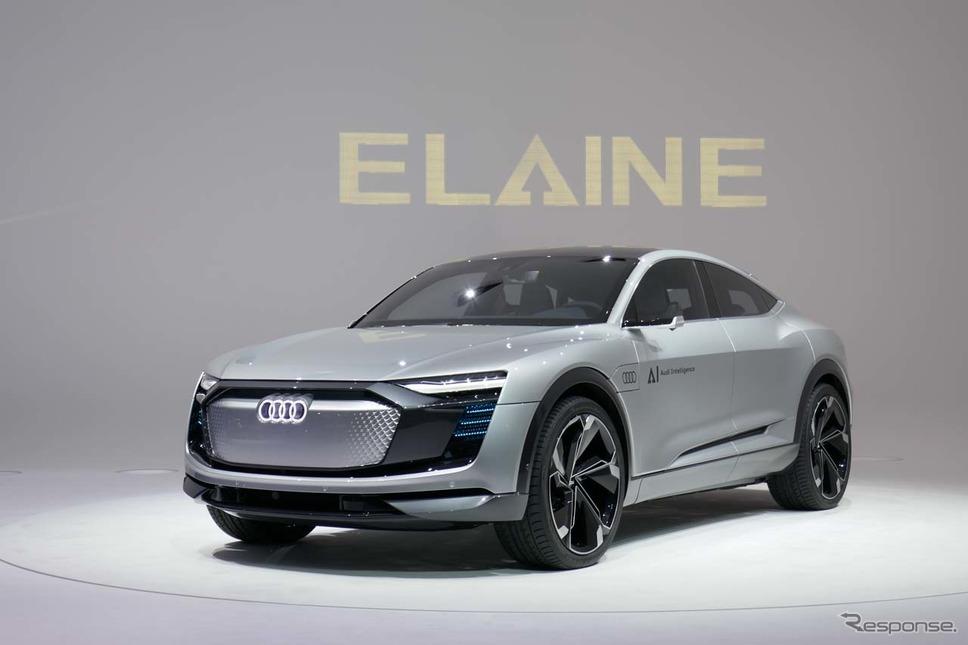 アウディの大型サルーンEVコンセプト「ELAINE」