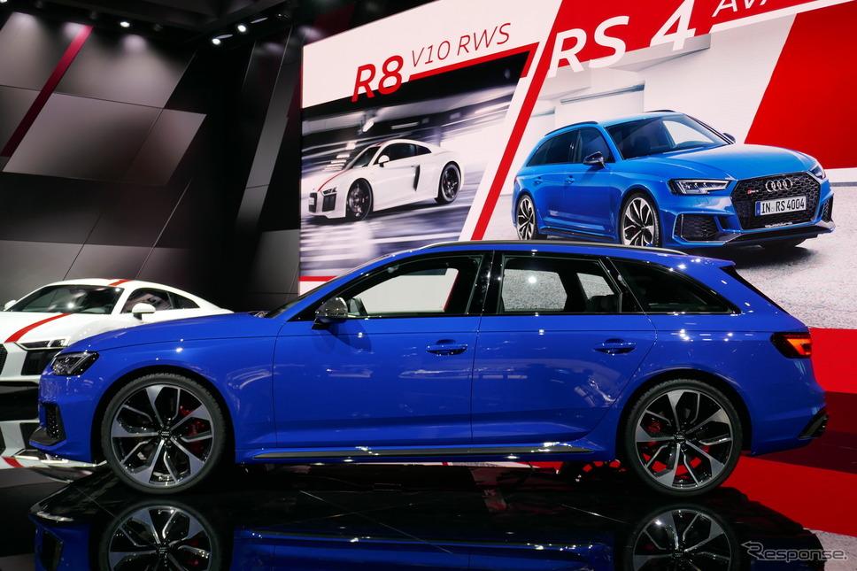 アウディ RS4 アバント 新型《撮影 関 航介》