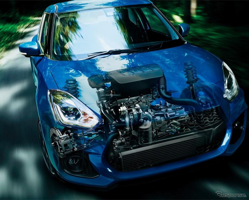 スズキ スイフトスポーツ 6MT セーフティパッケージ装着車 イメージ