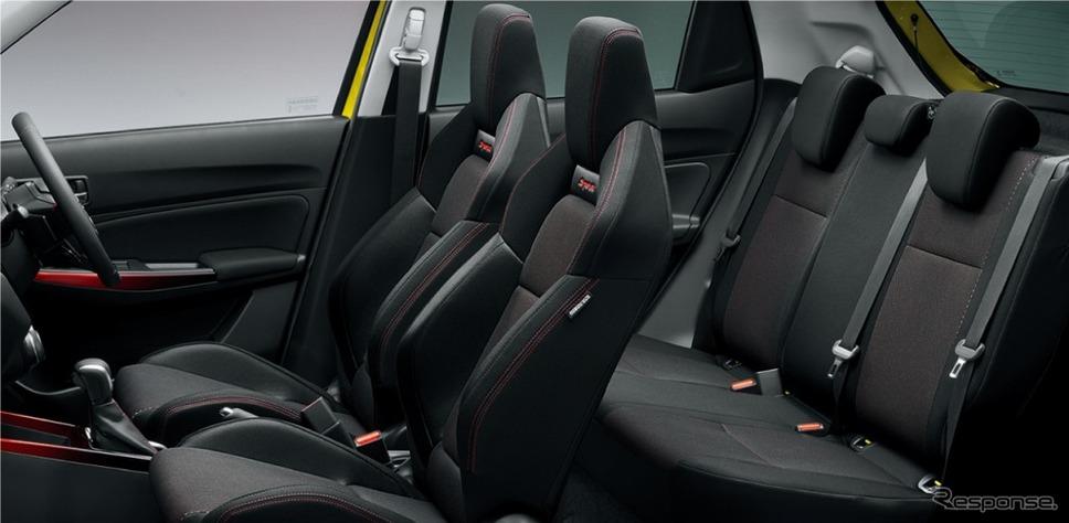 スズキ スイフトスポーツ 6AT セーフティパッケージ・全方位モニター用カメラパッケージ装着車 インテリア