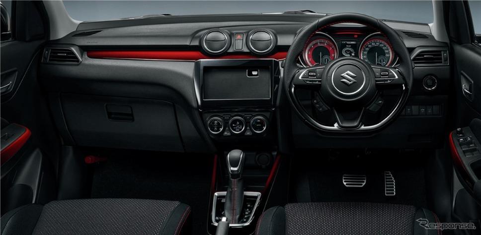 スズキ スイフトスポーツ 6AT セーフティパッケージ・全方位モニター用カメラパッケージ装着車 インパネ