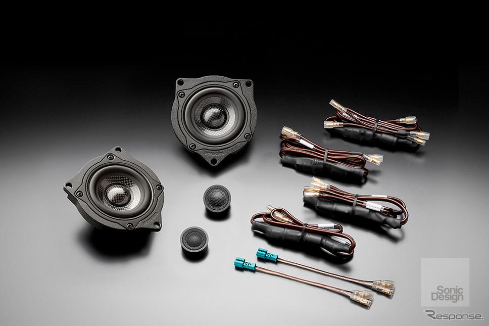 ソニックプラス BMW 7シリーズ(F01&02型、E65&66型)専用モデル「SP-F01iM」(ハイグレードモデル、フロント専用)
