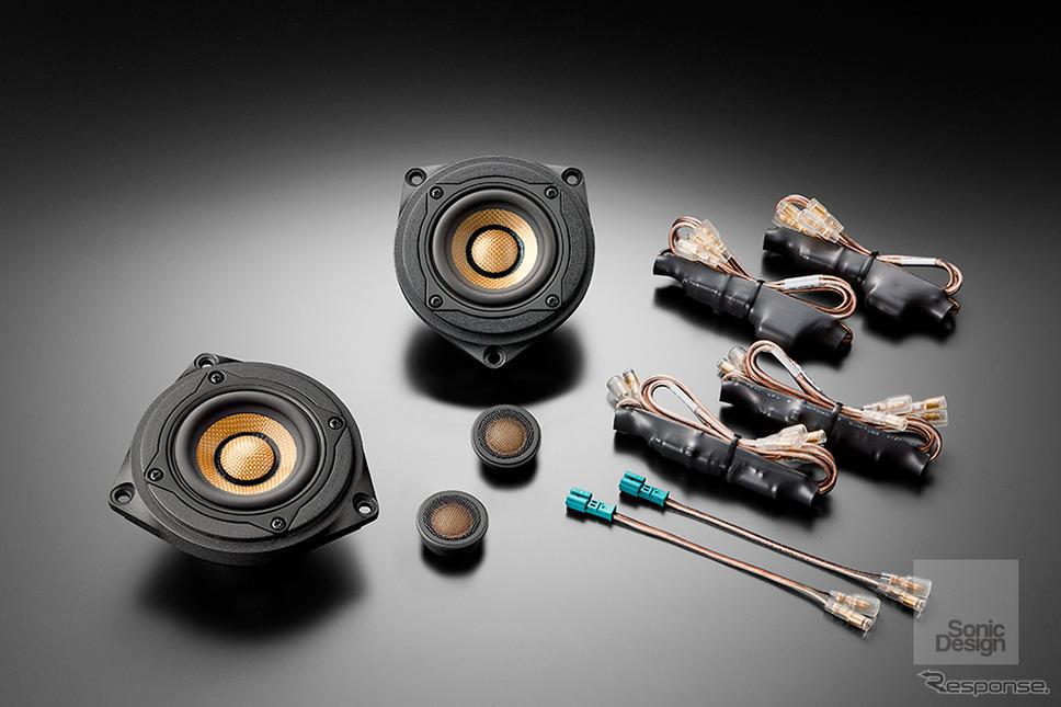 ソニックプラス BMW 3/4シリーズ、2シリーズ アクティブツアラー専用モデル「SP-F30iF」(トップグレードモデル、フロント専用)