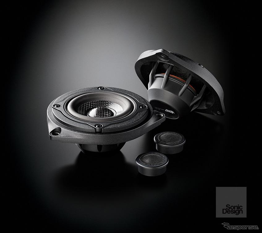ソニックプラス BMW 3/4シリーズ、2シリーズ アクティブツアラー専用モデル「SP-F30iM」(ハイグレードモデル、フロント専用)