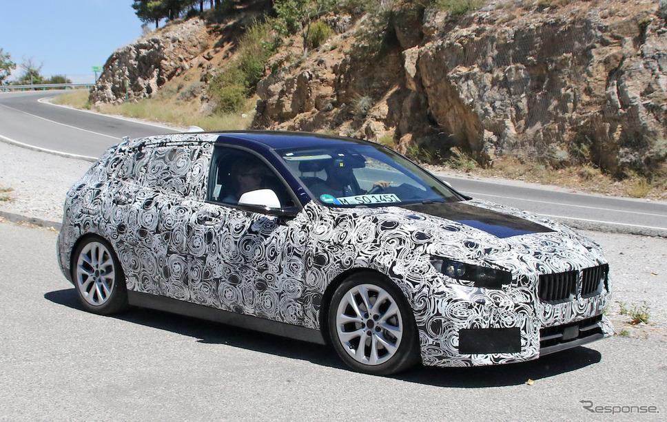 BMW 1シリーズ 次期型スクープ写真《APOLLO NEWS SERVICE》