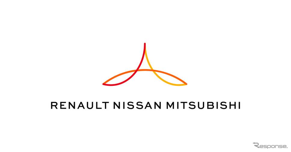 ルノー・日産自動車・三菱自動車 新ロゴ