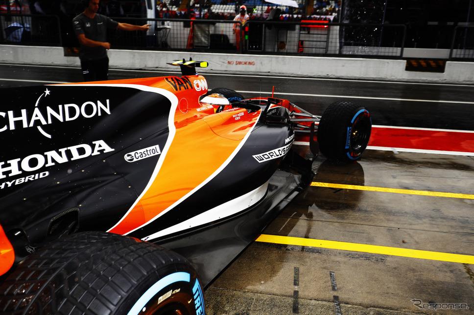 2017年シーズンのマクラーレン・ホンダ。《写真提供 Honda》