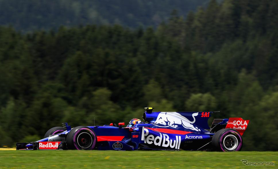 2017年シーズンのトロロッソ。《写真提供 Red Bull》