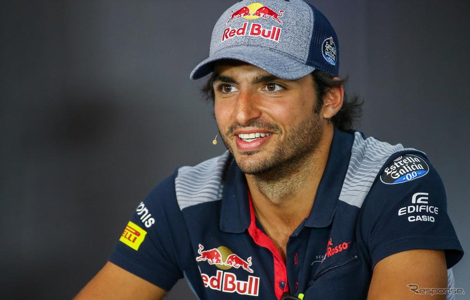 現トロロッソのカルロス・サインツJr.、来季はルノーで走る。《写真提供 Red Bull》