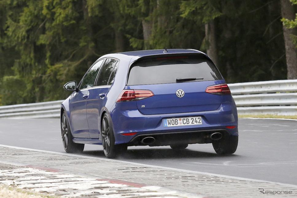 VW ゴルフ R420 スクープ写真《APOLLO NEWS SERVICE》