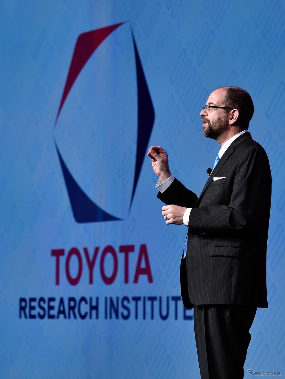 「TOYOTA RESEARCH INSTITUTE, INC.(TRI)」CEOのギル・プラット博士(CES 2016)《写真 Getty Images》