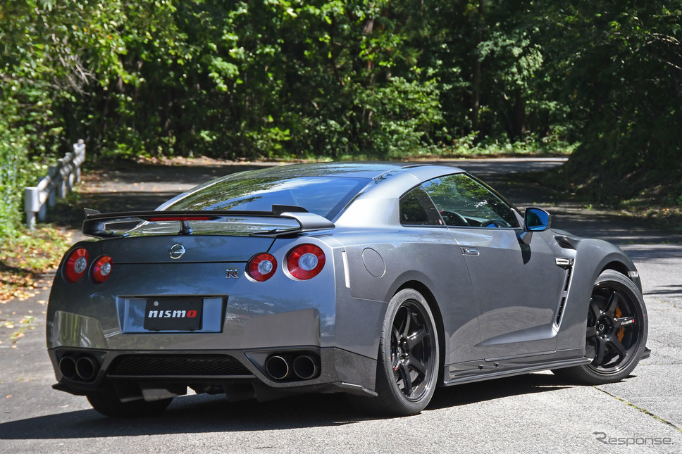 日産 GT-R NISMOパーツ装着車《撮影 諸星陽一》
