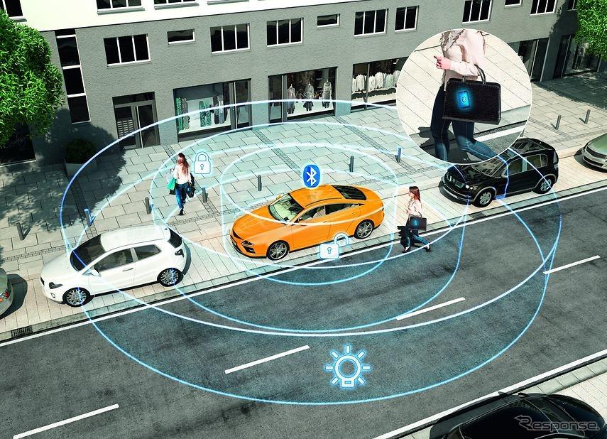 コンチネンタルの自動車向けのスマートアクセスシステム、「CoSmA」