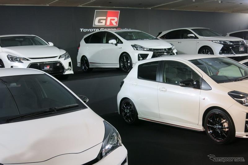 トヨタGR発表会《撮影 工藤貴宏》