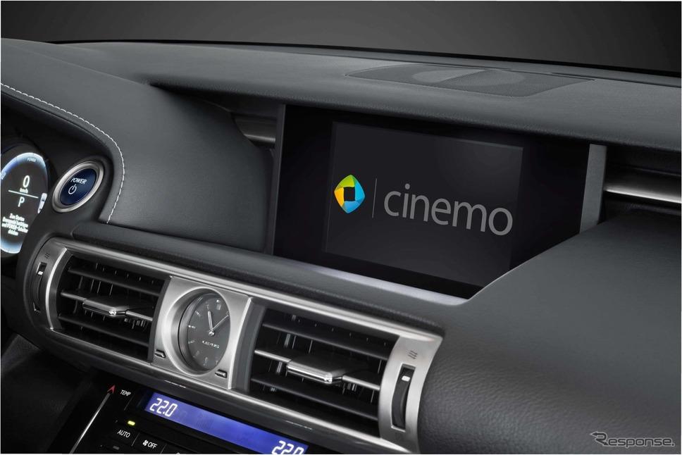 ボッシュとCinemoが共同開発した車載インフォテインメント