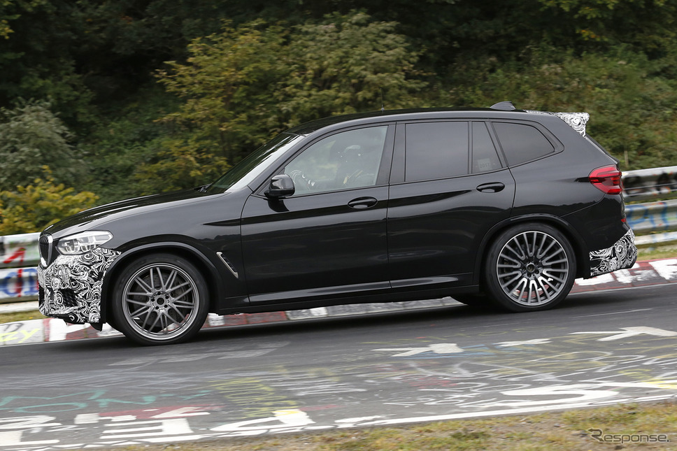 BMW X3 M スクープ写真《APOLLO NEWS SERVICE》