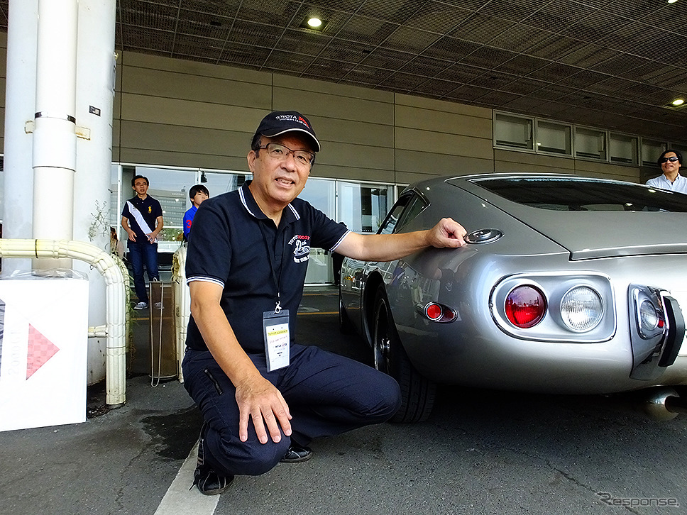 トヨタ2000GT生誕50周年祭(9月24日、メガウェブ)《撮影 大野雅人(GazinAirlines)》