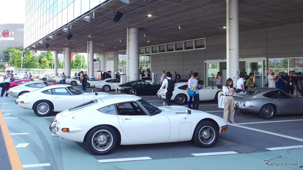 トヨタ2000GT生誕50周年祭(9月24日、メガウェブ)《撮影 高木啓》