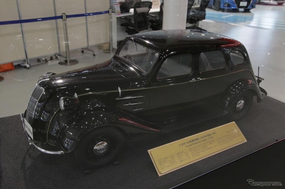 1936年 トヨダAA型(1/5モデル)
