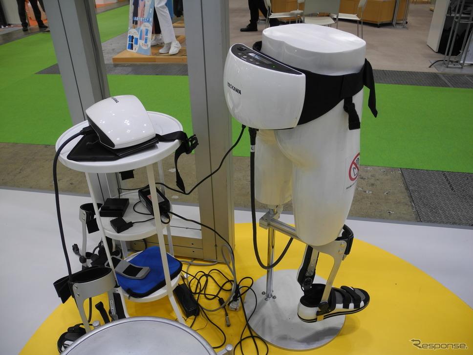 足首アシスト装置「CoCoroe AAD」(福祉機器展2017)《撮影 山田清志》
