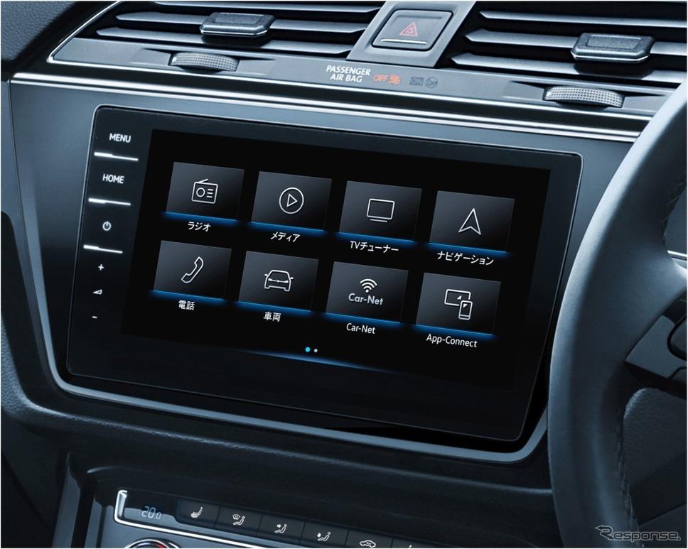 VW ゴルフ トゥーラン TSI コンフォートライン テックエディション2純正インフォテイメントシステム Discover Pro イメージ