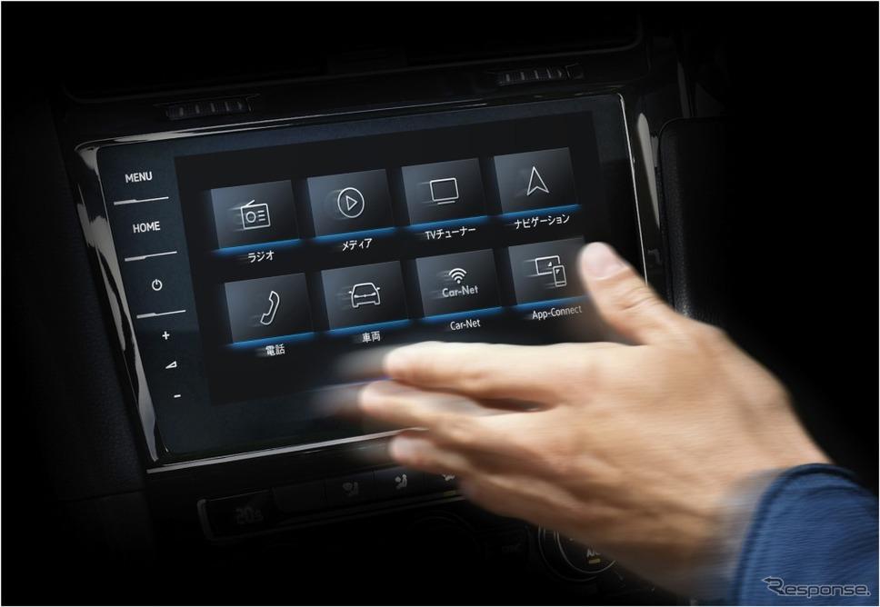 VW ゴルフ トゥーラン TSI コンフォートライン テックエディション2ジェスチャーコントロール イメージ