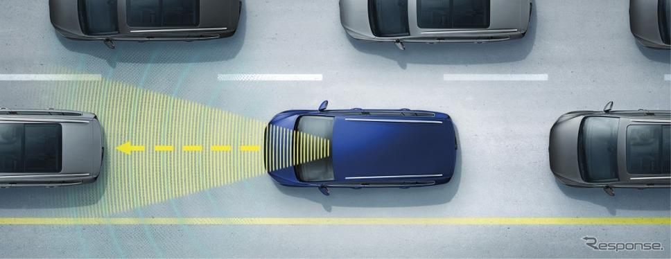 """VW ゴルフ トゥーラン TSI コンフォートライン テックエディション2渋滞時追従支援システム""""Traffic Assist"""" イメージ"""